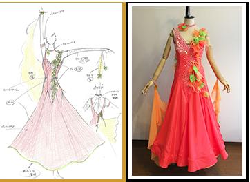 ドレス制作